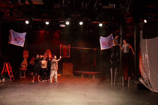 Photo Flash: First Look at THE ANTHROPOLOGISTS SAVE THE WORLD! at New Ohio Theatre's Ice Factory Festival
