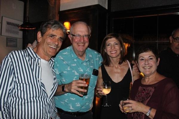 Richard Romagnoli, guest, Jeanne LaSala Taylor, Cheryl Faraone Photo