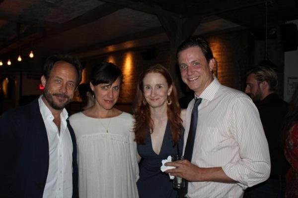 Alex Draper, Stephanie Janssen, Megan Byrne, Andrew William Smith Photo