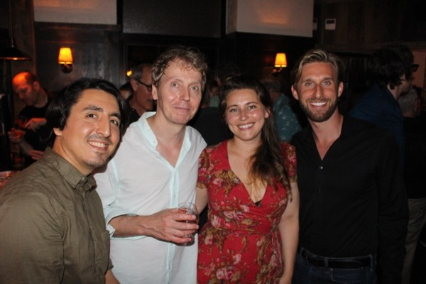 Joseph Cabrera, Jonathan Tindle, Mira Veikley, Bill Army