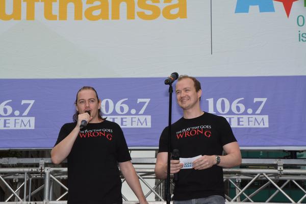 Rob Falconer and Greg Tannahill