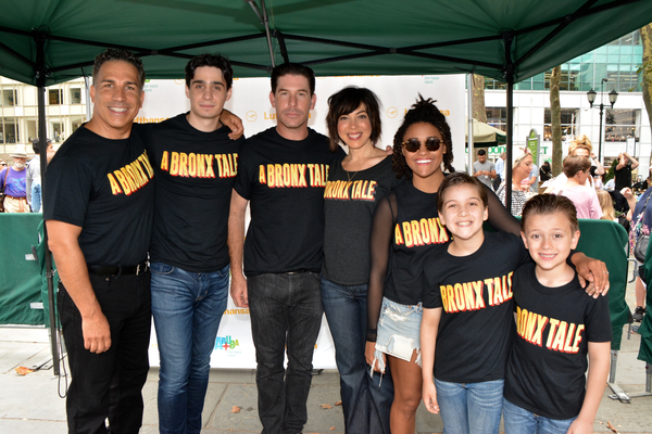 Charlie Marcus, Bobby Conte Thornton, Richard H. Blake, Lucia Giannetta, Ariana DeBose, Hudson Loverro and Jonah Mussolini