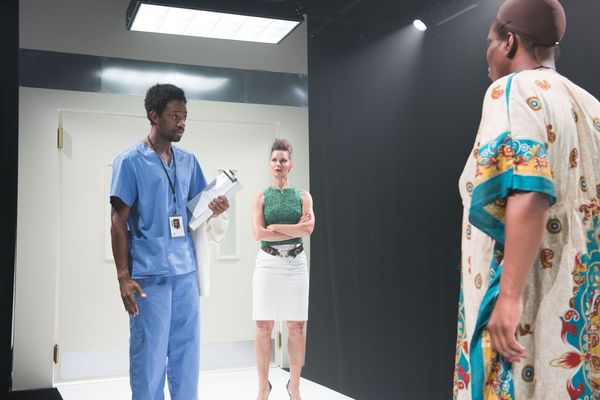 Photo Flash: The Movement Theatre Company Celebrates Opening Weekend of AND SHE WOULD STAND LIKE THIS