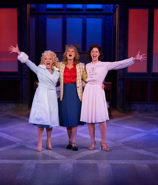 Summerisa Bell Stevens, Corinne Melanaon and Laura E. Taylor (Judy Bernly) Photo