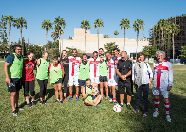 Photo Flash: La Scala Ballet and Segerstrom Center Staff Play International Soccer Match