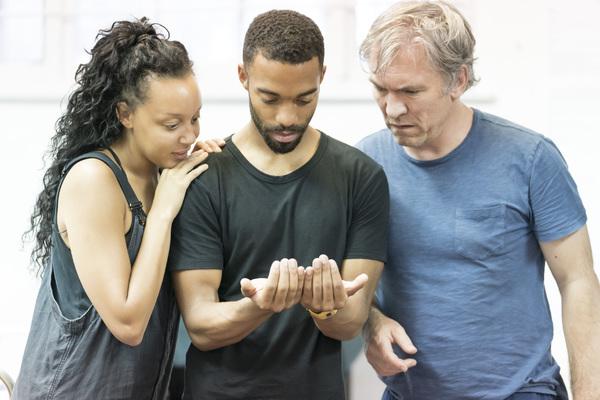 Adelle Leonce, Elliot Barnes-Worrell, and Martin McDougall