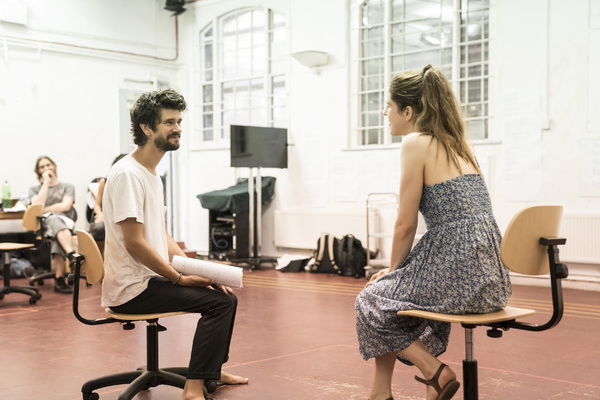 Ben Whishaw and Amanda Hale