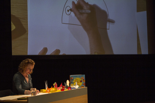 Photo Flash: Lydia Monks Hosts WHAT THE LADYBIRD HEARD Illustration Workshop