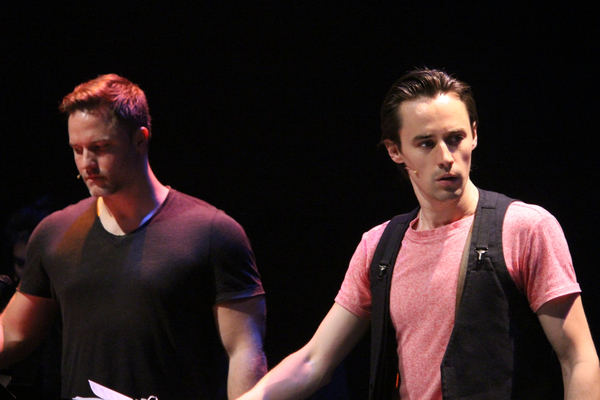 Scott Porter and Reeve Carney