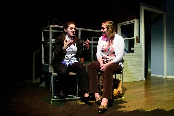 Rose Sengenberger and Alison Plott
