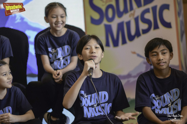Photo Coverage: THE SOUND OF MUSIC International Tour Finds Cast of Kids