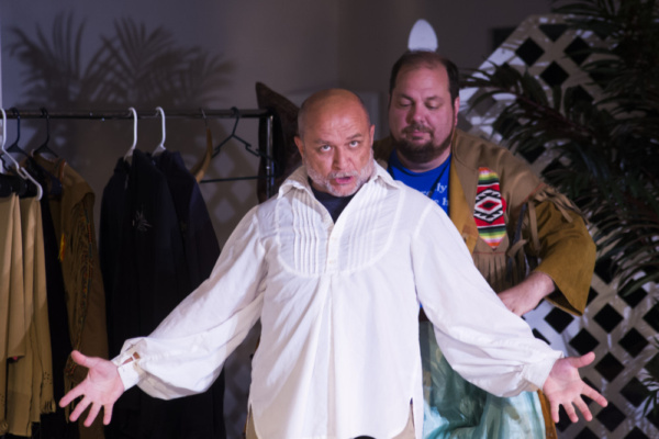 Mike Rossi (Danny Baynard) and Terry Stein (Author: Thom Mesrobian) are two actors who have found gainful, if not bizarre, employment in a theme park