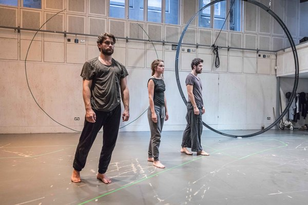 Photo Flash: Inside Rehearsal for KNIVES IN HENS at Donmar Warehouse