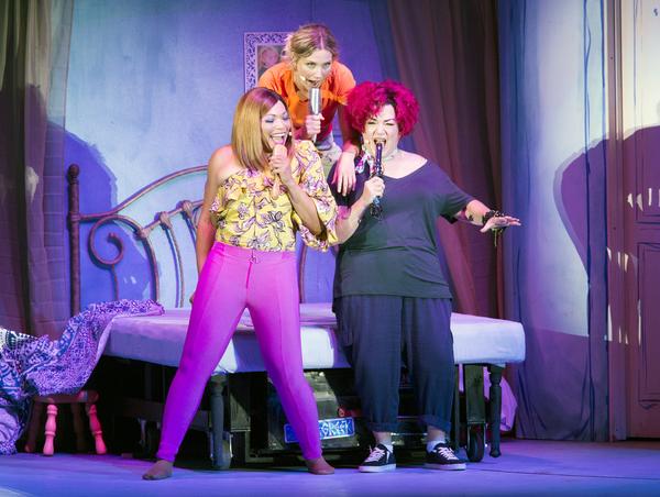Lea DeLaria, Jennifer Nettles and Tisha Campbell-Martin
