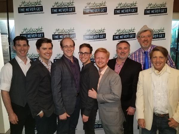 Brian Kilday, Sam Bolen, Michael Chase Gosselin, Mark Sonnenblick, Max Friedman, Dustin Sparks, Tim Sulka, Jody O'Neil