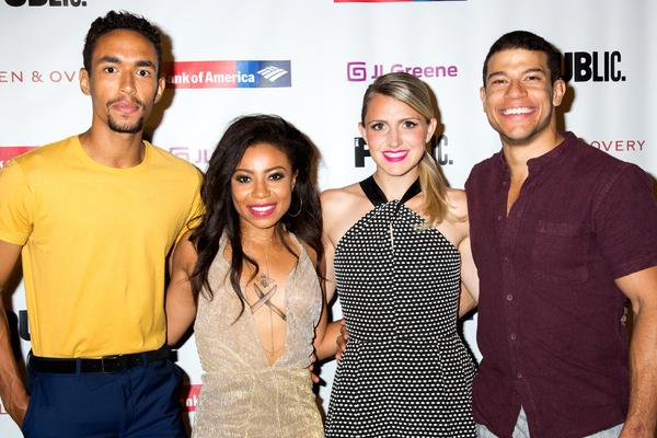 Kyle Beltran, Shalita Grant, Annaleigh Ashford, Alex Hernandez Photo