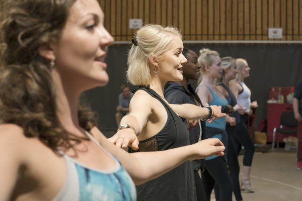 Photo Flash: In Rehearsals for FOLLIES at National Theatre