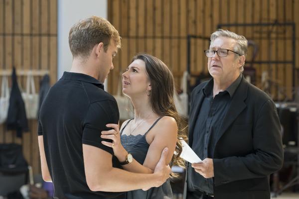 Adam Rhys-Charles, Zizi Strallen and Philip Quast