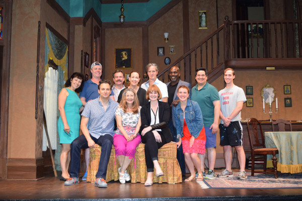 Photo Flash: Kate Baldwin Visits Harriet Harris and the Cast of ARSENIC AND OLD LACE at BTG