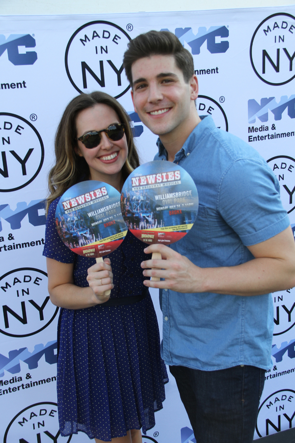 Liana Hunt and Adam Kaplan