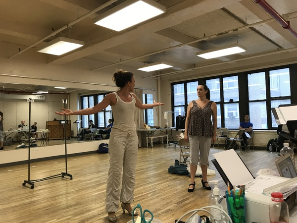 Photo Flash: In Rehearsal with Julia Murney and More for GYPSY at Cape Playhouse