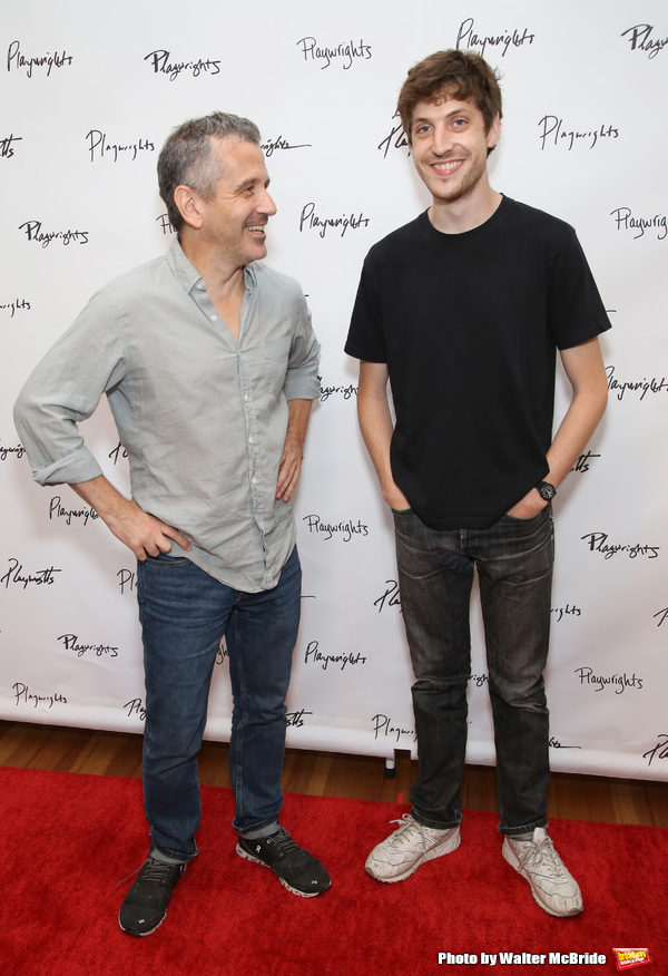 Director David Cromer and playwright Max Posner