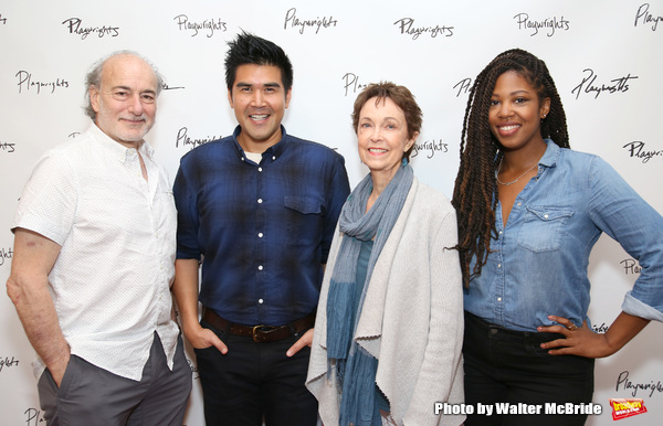 Peter Friedman, Pun Bandhu, Deanna Dunagan and Marinda Anderson