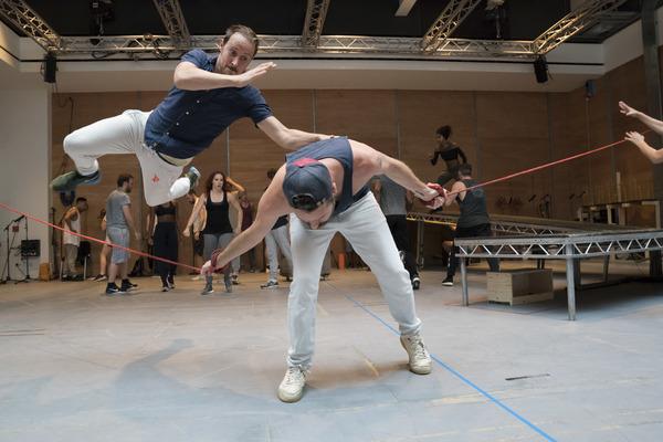 Photos: In Rehearsals for JESUS CHRIST SUPERSTAR at Regent's Park Open Air Theatre