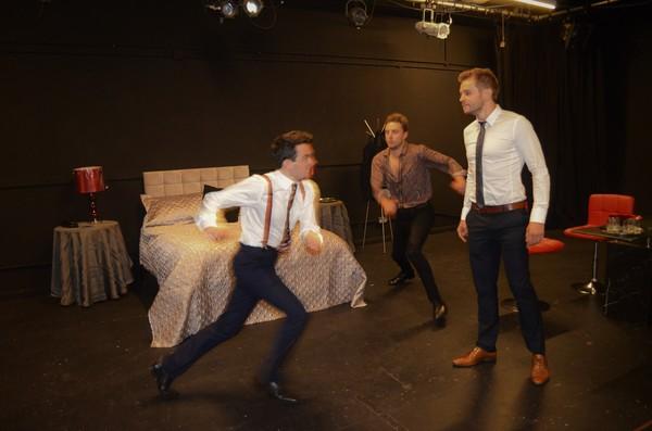 Ed Brody, Ryan Hutton, and Dario Coates  Photo