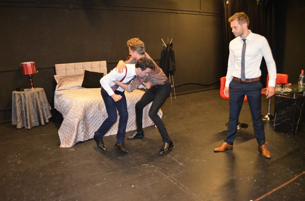 Ryan Hutton, Dario Coates, and Ed Brody Photo