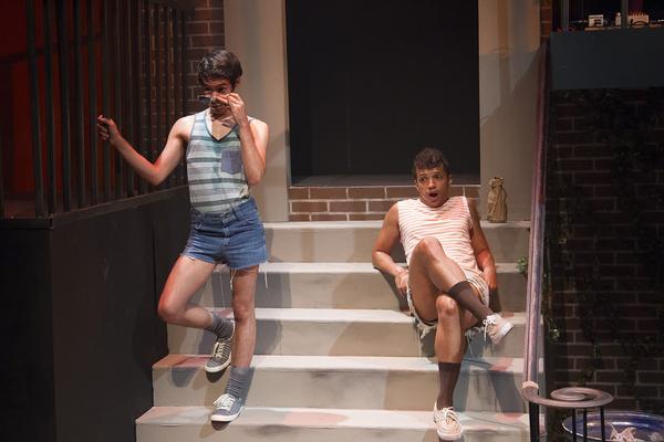 Joshua Gonzales and Rashaun Sibley