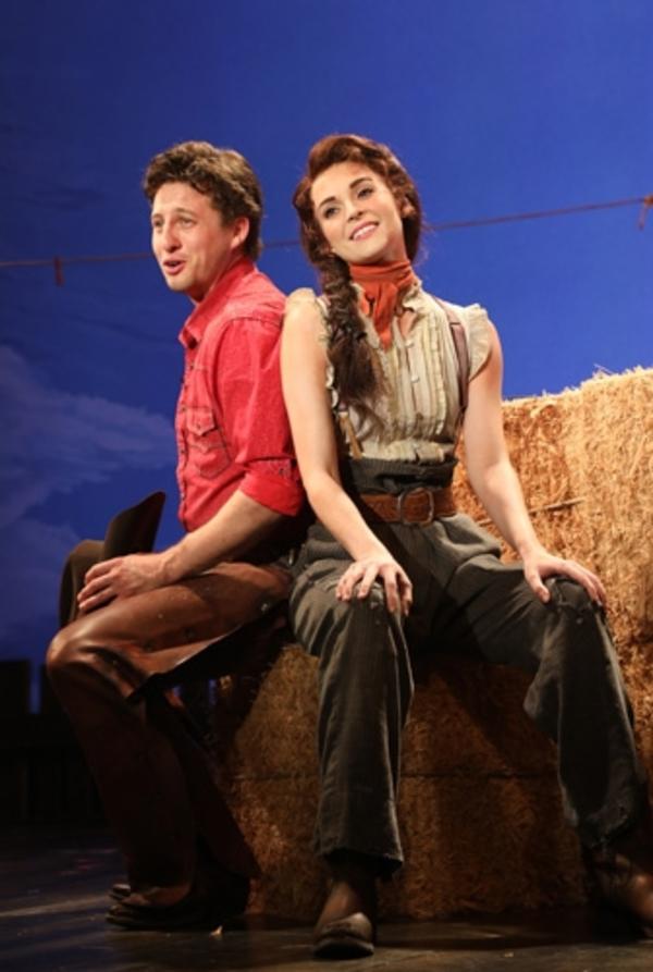 Rhett Guter and Samantha Bruce