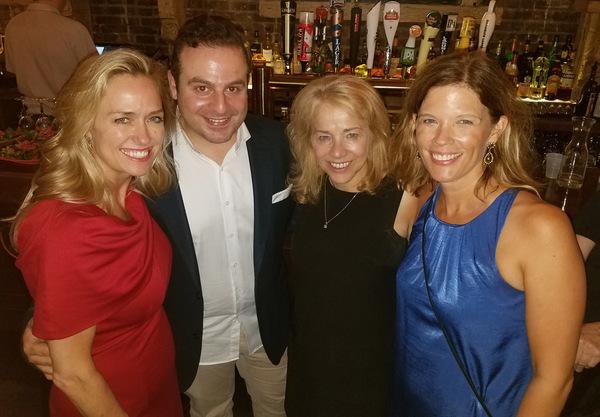 Sara Stotts, George Youakim, Sharon Fallon, and Julie Dunlap