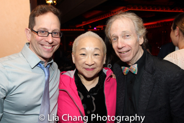Garth Kravits, Lori Tan Chinn and Scott Siegel