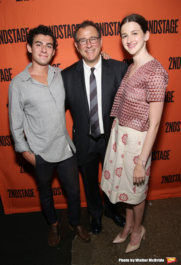 David Greif, Michael Greif and Hannah Greif Photo