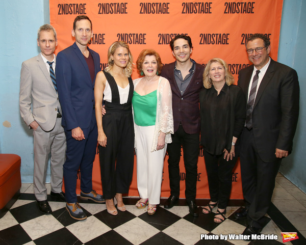 Photo Coverage: The Company of A PARALLELOGRAM Celebrates Opening Night!