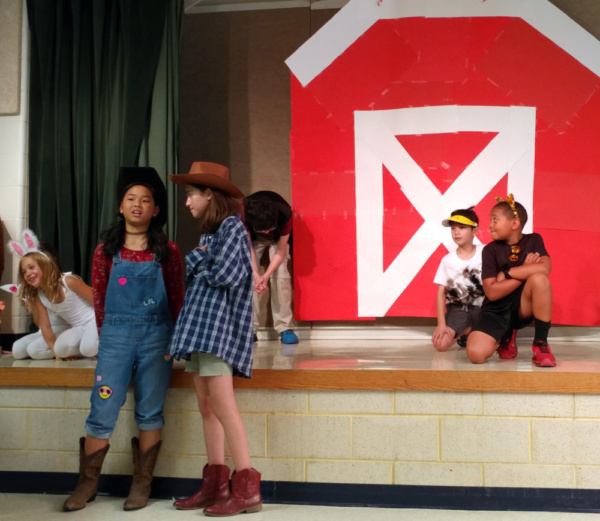 Barnyard Follies, a new musical by Sam Carner, comes from Off-Broadway to the Nationa Photo