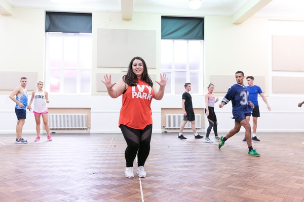 Photo Flash: Welcome to the 60s! Inside Rehearsals for HAIRSPRAY Ahead of UK Tour