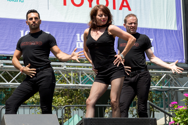 Michael Scirrotto, Donna Marie Asbury, David Bushman
