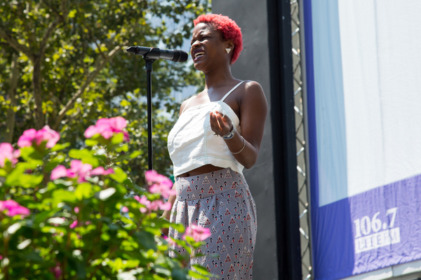 Photo Coverage: The Casts of MISS SAIGON, GREAT COMET & More Belt It Out at Bryant Park!