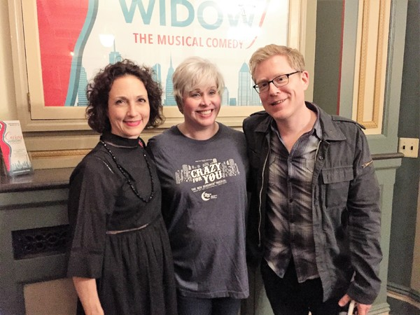 BeBe Neuwirth, Nancy Opel and Anthony Rapp