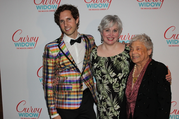 Drew Brody, Nancy Opel and Bobby Goldman Photo
