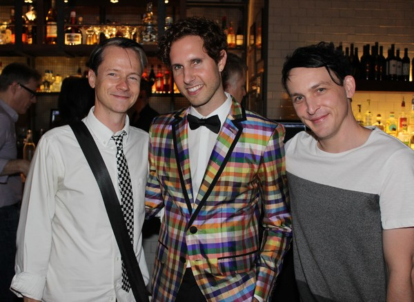 John Cameron Mitchell, Drew Brody and Robin Lord Taylor