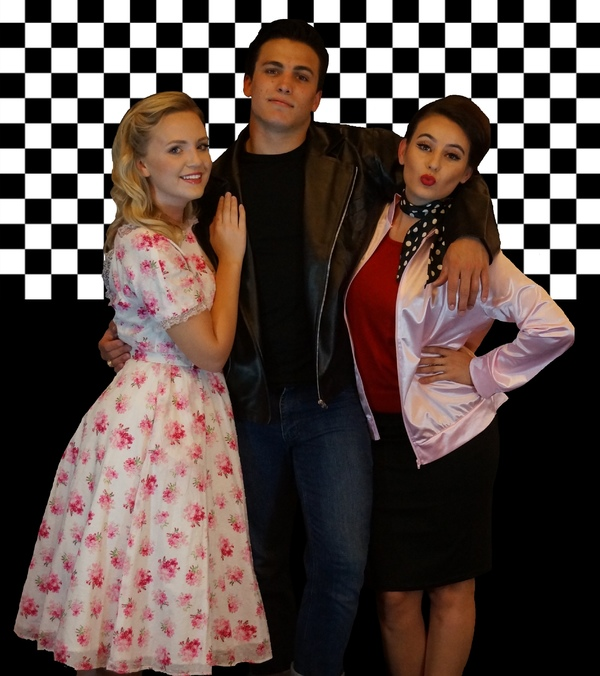 Meredith Bennett, Taylor Vasek as DANNY and Megan Marissa Mock as RIZZO