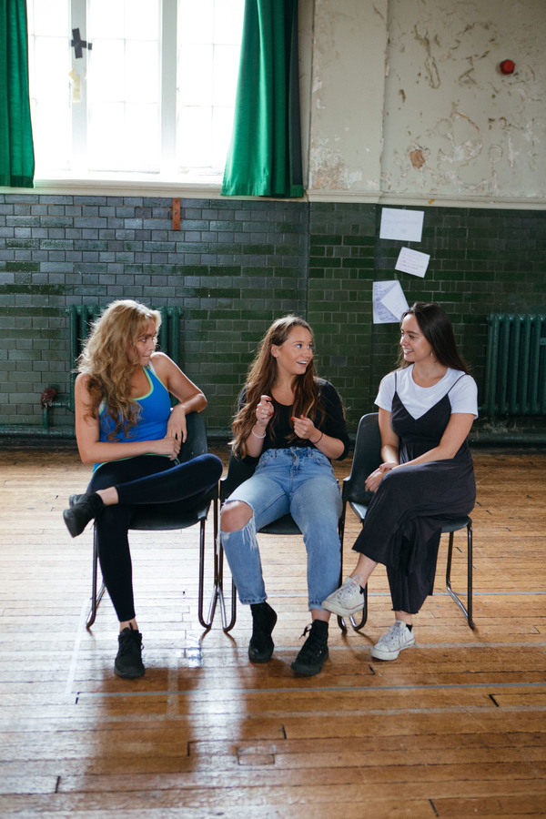 Photo Flash: In Rehearsal with NYT's THE HOST