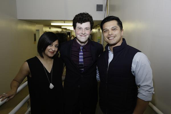 Maria Elena Ramirez, Adam Langdon and Vincent Rodriguez III