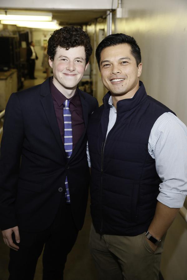 Adam Langdon and Vincent Rodriguez III