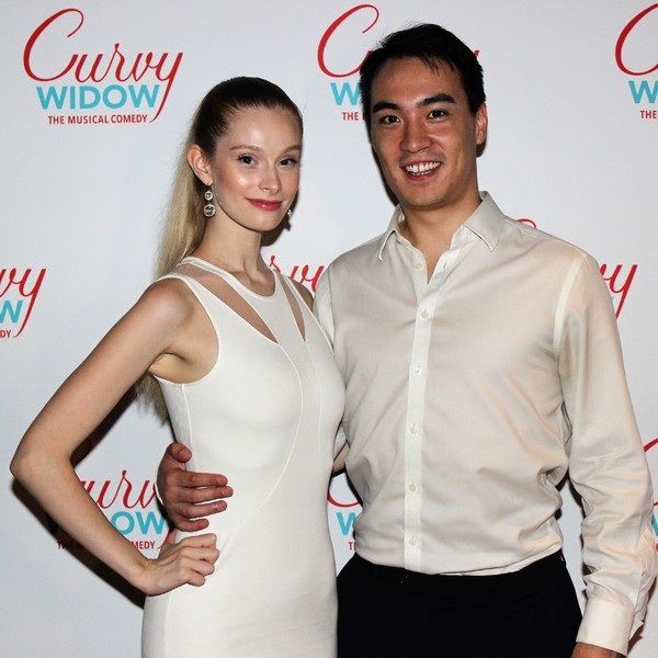 Photo Coverage: Nancy Opel & Company Celebrate Opening Night of CURVY WIDOW