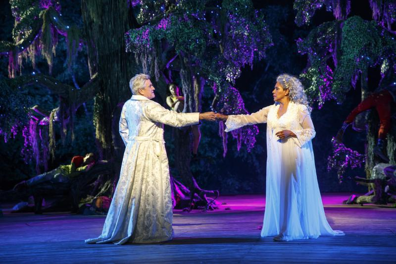 BWW Review:  Director Lear deBessonet's Luscious, Lusty and Laugh-Out-Loud Funny A MIDSUMMER NIGHT'S DREAM