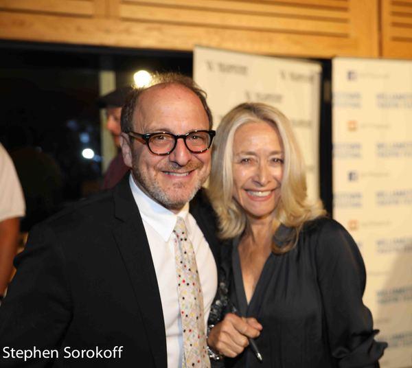 Lonny Price, director & Eda Sorokoff